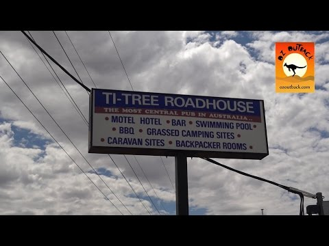 Ti Tree Roadhouse & Caravan Park - Northern Territory