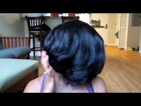 Short Layered Bob for Beginners