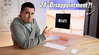 "Apple's 24"" M1 iMac -  My Honest & Unpopular Opinion.."