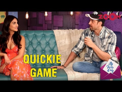 War Stars Hrithik Roshan And Vaani Kapoor Give INTERESTING Answers In The Fun Game Quickie