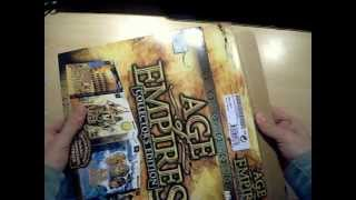 Unboxing Age of empires Collector