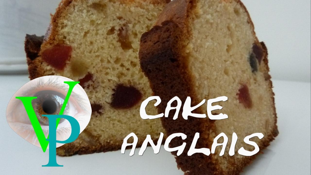 Réalisation d'un cake Anglais