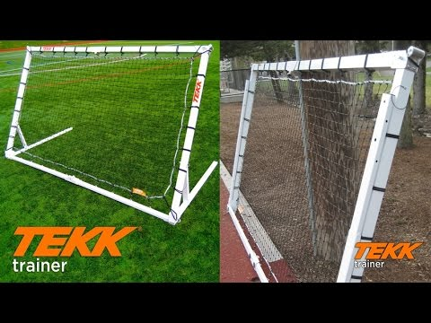 Tekk Trainer Rebounder Goal For Soccer, Basketball, Lacrosse, & Baseball, Used By Pro Players