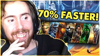 Asmongold Reacts to Shadowland's BIG Leveling Revamp & Push To Be Most Alt Friendly Xpack In YEARS