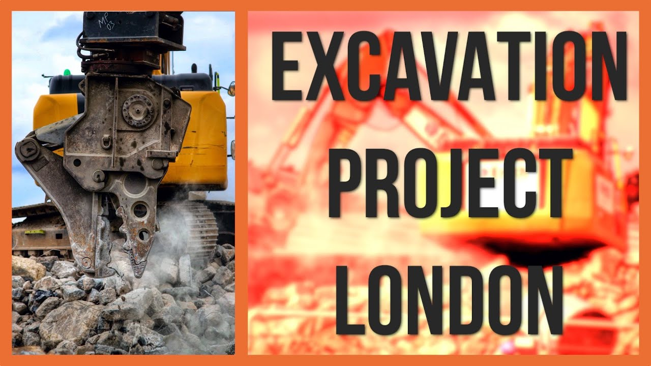 BIG excavation project in LONDON! | DIGGERS AND DOZERS
