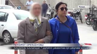 Konya'da FETÖ/PDY Operasyonu Yapıldı