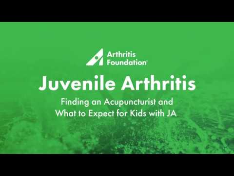 Finding an Acupuncturist and What to Expect for Kids with JA