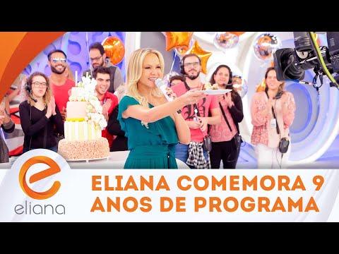 Eliana comemora 9 anos de programa | Programa Eliana (02/09/18)