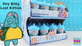 Itty Bitty Lost Kitties Series 2 Full Case Unboxing Blind Bag Toy Review | PSToyReviews