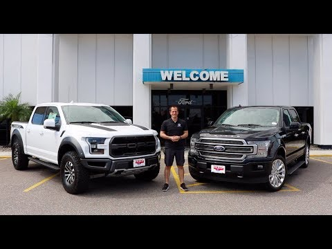 Which Ford truck SHOULD you BUY?  Ford Raptor or F- Limited