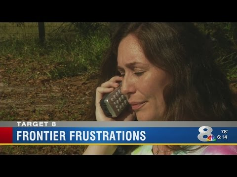 Frontier billing error results in termination of elderly couple's phone service