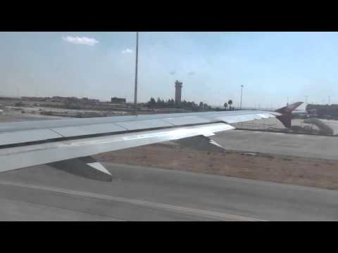 Royal Jordanian - Take-off Amman Queen Alia Airport Airbus A319