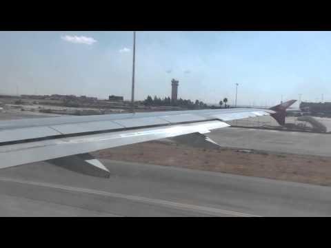 Royal Jordanian - Take-off Amman Queen Alia Airport Airbus A319