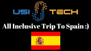 USI Tech Heading To Spain | All Inclusive Trip Unveiled