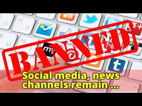 Social media, news channels remain suspended for 2nd day across Pakistan