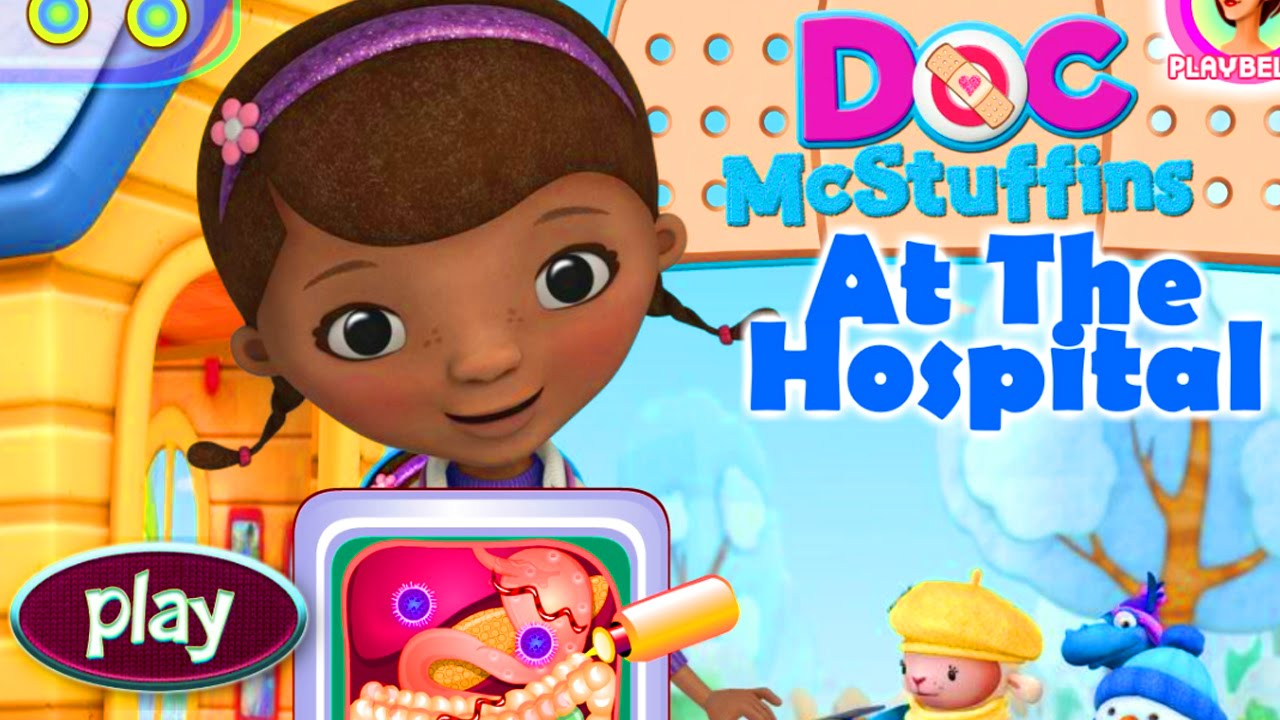 DOC McStuffins At The Hospital Baby Game Kids Game YouTube - Doc games
