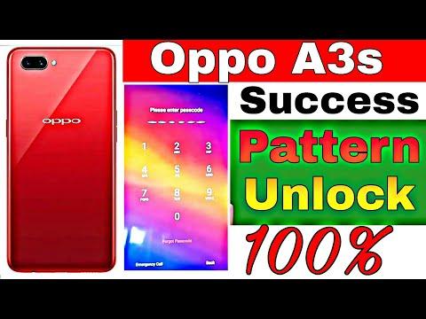 Oppo A3S Hard reset Password Unlock whidout pc : LightTube