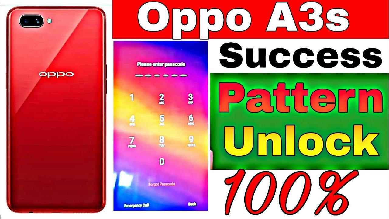 Oppo Forgot Passcode