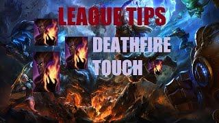 League Tips - Deathfire Touch (keystone mastery)
