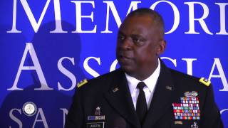 2015 George P. Shultz Lecture Series - General Lloyd J. Austin, III - Extended Version