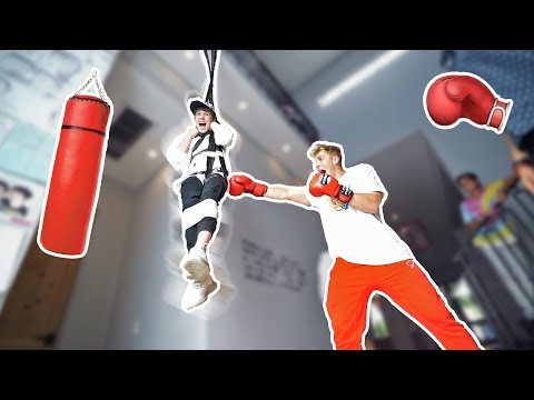 Thumbnail: HUMAN PUNCHING BAG PRANK (he fell for it!!)