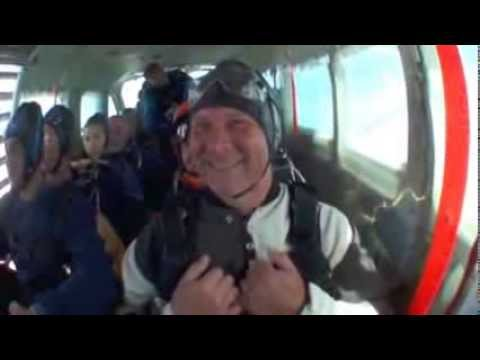Jay Peachment skydive at Beccles Heleport