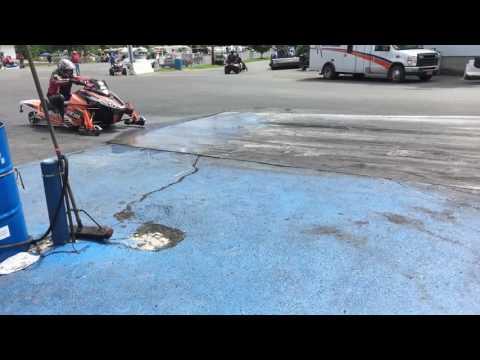 Turbo sled Lebanon Valley Speedway