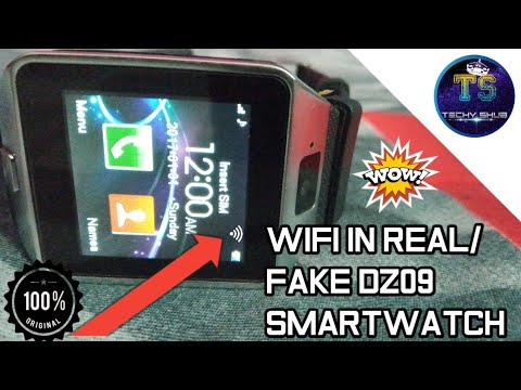 How To Use Wifi In Real/fake Dz09 Smartwatch|| Open Wifi Setting In Dz09 Smartwatch(Truth Revealed)