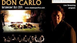 Roberto Alagna | INTERVIEW - DON CARLO | VERDI
