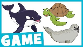 Learn Aquarium Animals | What Is It? Game for Kids | Maple Leaf Learning