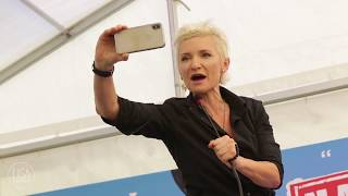 Download Диана Арбенина на пресс-конференции фестиваля Нашествие 2018 Mp3 and Videos