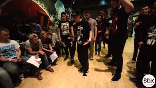 KRUMP 1/2 | KID GULLY VS PRINCESS MANHUNTA | SDK RUSSIA 2015