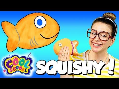 DIY Fish Squishy! How to Make a Stress Ball   Arts & Crafts with Crafty Carol
