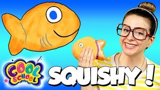 DIY Fish Squishy! How to Make a Stress Ball | Arts & Crafts with Crafty Carol