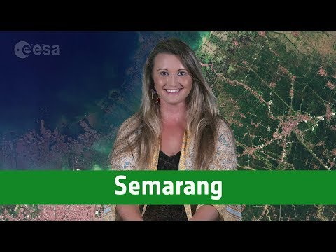 Earth from Space: Semarang, Indonesia