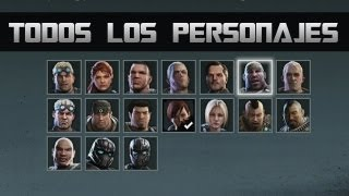 Gears of War Judgment | All Characters / Todos los Personajes!!