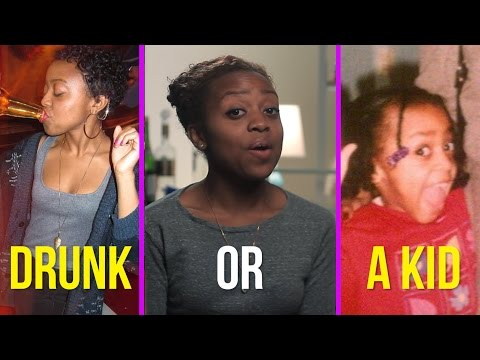 Drunk Or A Kid: Can You Guess?