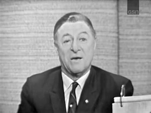 What's My Line?  George Jessel; Tony Randall panel; Marlo Thomas panel Apr 11, 1965