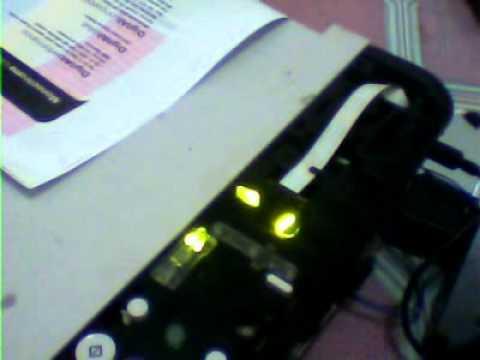 Mp287 Service Mode Error Alarm Youtube
