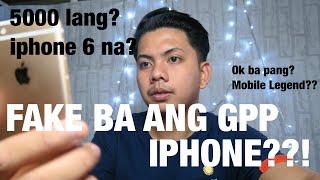 Bakit mura ang GPP IPHONE??LEGIT BA?