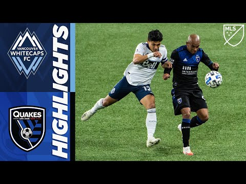 Vancouver Whitecaps San Jose Earthquakes Goals And Highlights