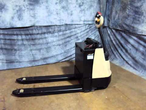 For Sale 2006 Crown Electric Pallet Jack Stand Up Walkie