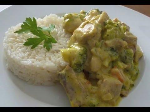 Pollo al curry con verduras recetas de cocina f cil for Como cocinar pollo al curry