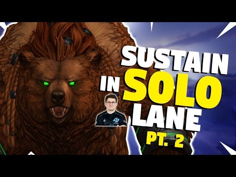 SMITE Sustain in Solo ft fineokay - Items, eHP & Gods [Part 2]