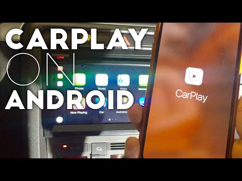 How To Get Apple CarPlay On An Android Car Stereo Head Unit