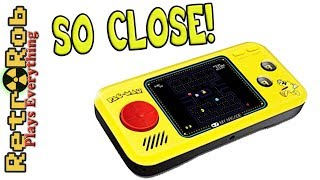 My Arcade Pacman Handheld Unboxing, Gameplay and Thoughts