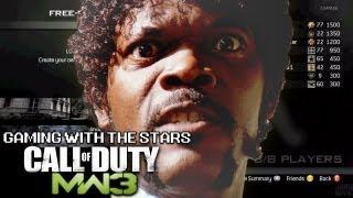 Gaming with the Stars - Samuel L. Jackson Plays Modern Warfare 3 - Soundboard Trolling