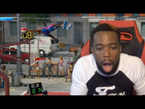 Dunk From The 3 Point Line! How?! First Ever Pack Opening NBA Playground Gameplay! |
