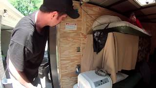 110v Electrical wiring ..........  6x10 Enclosed Trailer Conversion Project