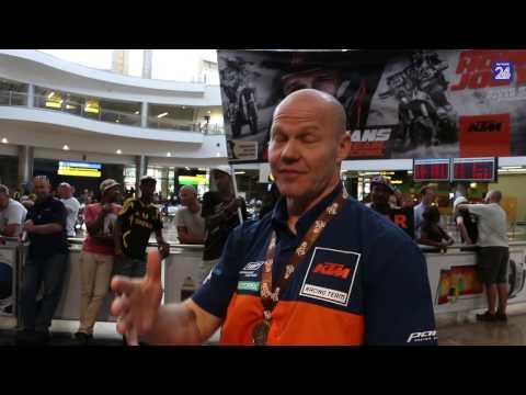 Eers verlam, nou Dakar-held